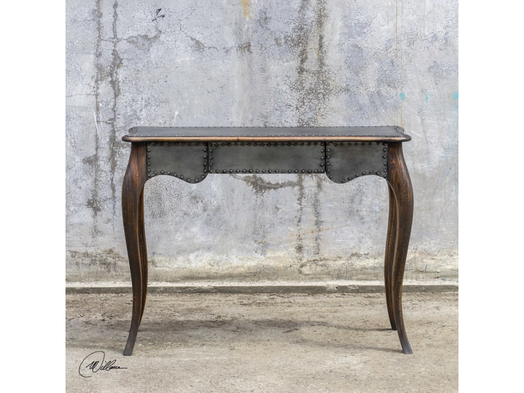 Uttermost Accent FurnitureRoarke Industrial Console Table
