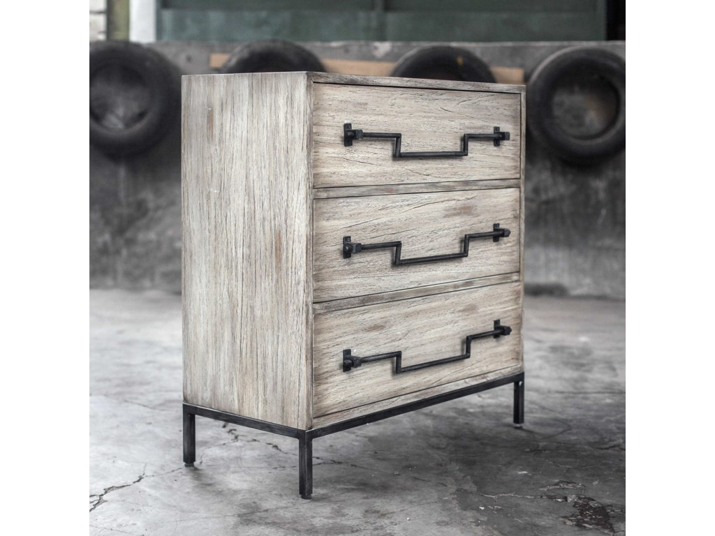 Uttermost Accent FurnitureJory Aged Ivory Accent Chest