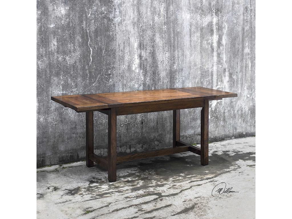 Uttermost Accent FurnitureFairbanks Oak Cafe Table