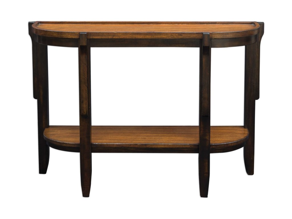 Uttermost Accent FurnitureSigmon Wooden Console Table