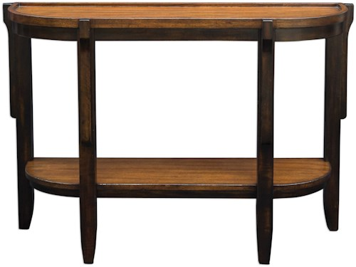 Uttermost Accent Furniture Sigmon Wooden Console Table