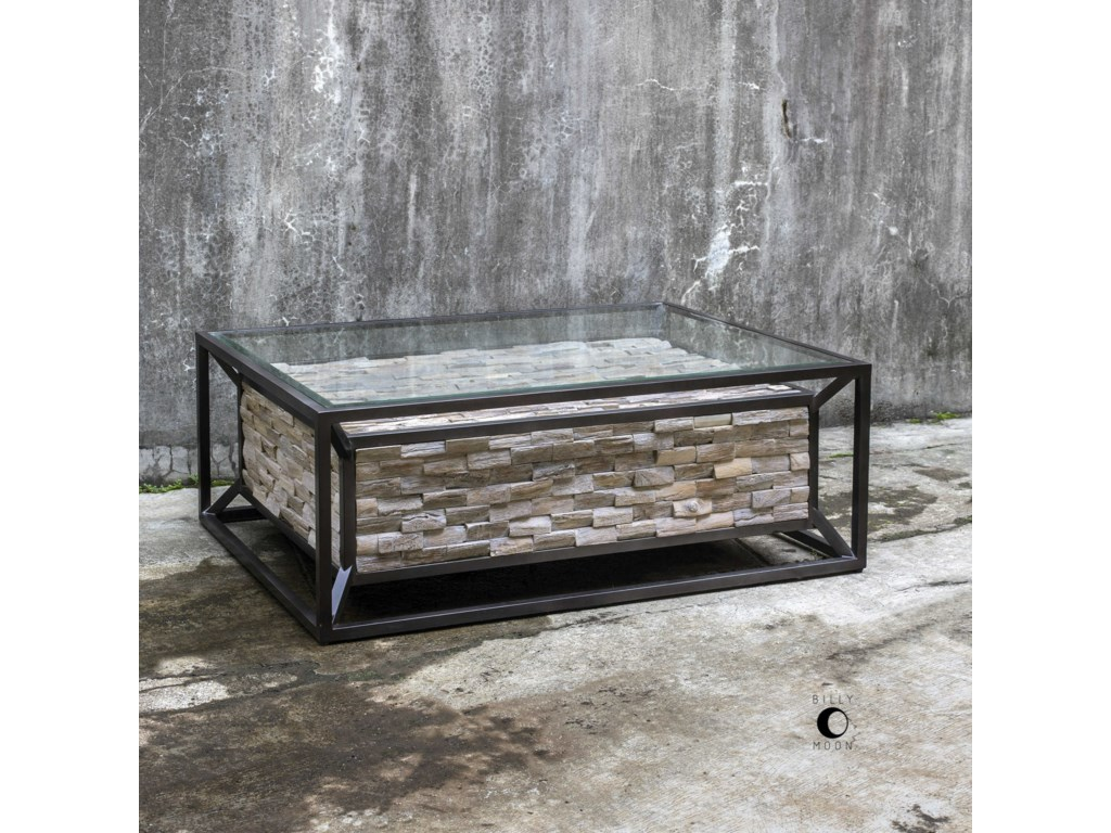 Uttermost Accent Furniture - Occasional TablesKono Reclaimed Teak Coffee Table