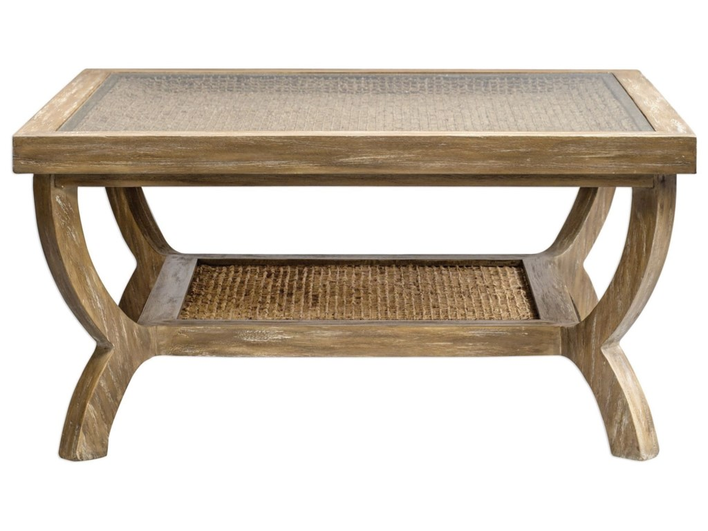 Uttermost Accent Furniture - Occasional TablesCameron Oak Coffee Table