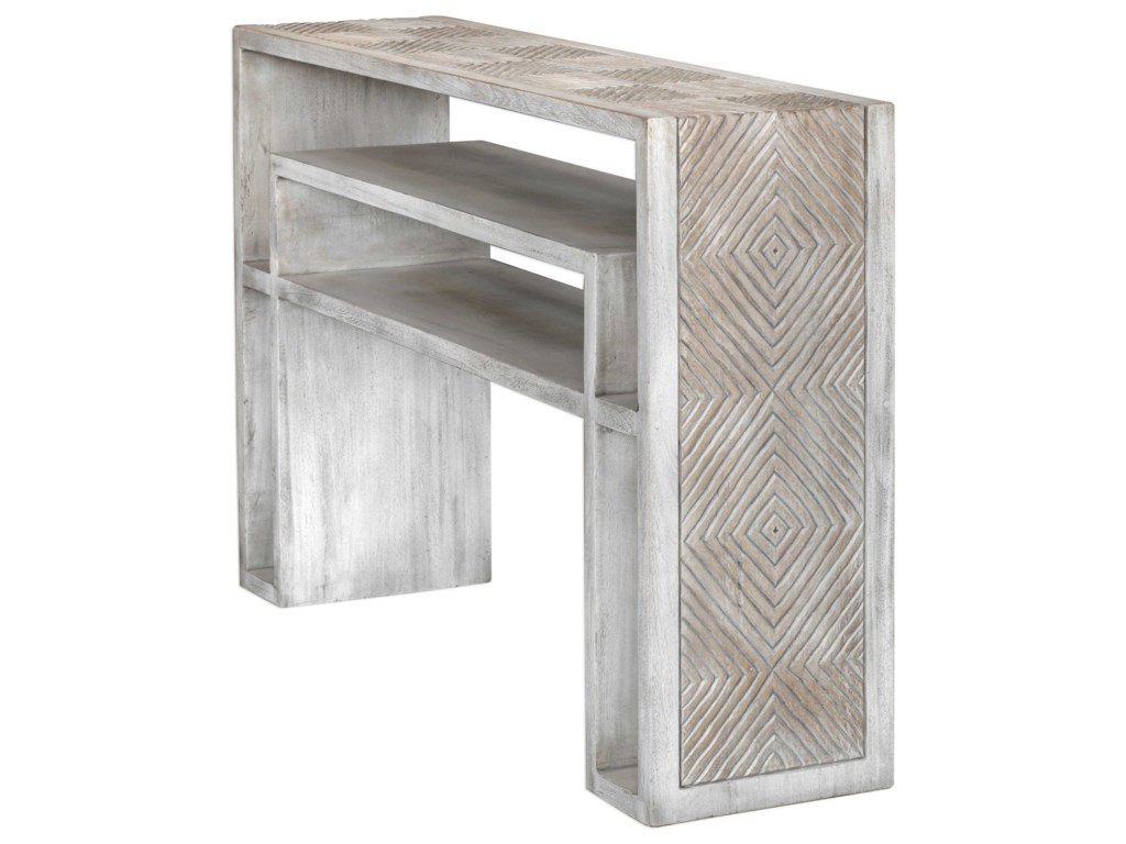 Uttermost Accent Furniture - Occasional TablesGenara Console Table