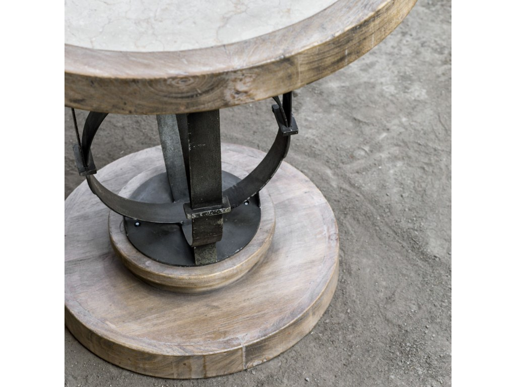 Uttermost Accent FurnitureSydney Light Oak Accent Table