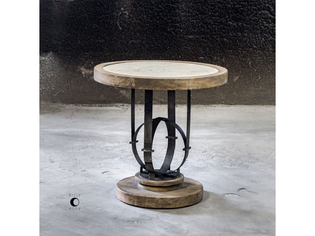 Uttermost Accent Furniture - Occasional TablesSydney Light Oak Accent Table