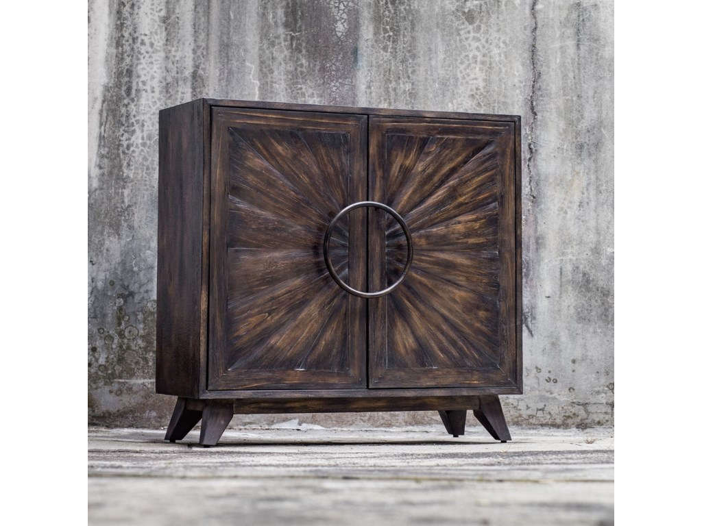 Uttermost Accent Furniture - ChestsKohana Black Console Cabinet