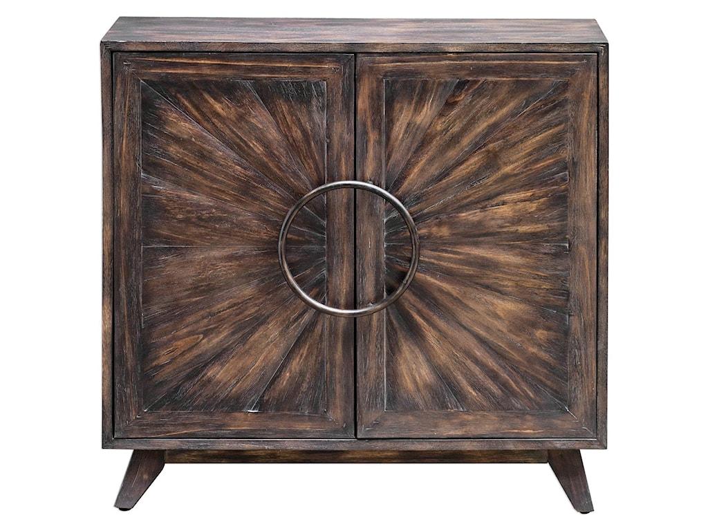 Uttermost Accent FurnitureKohana Black Console Cabinet