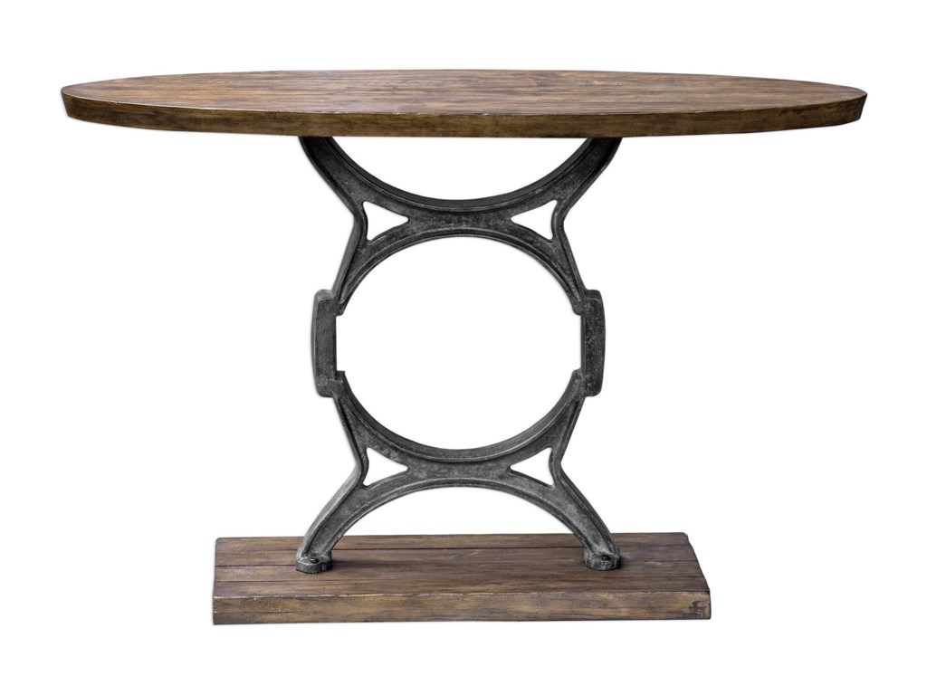Uttermost Accent Furniture - Occasional TablesWynn Industrial Console Table