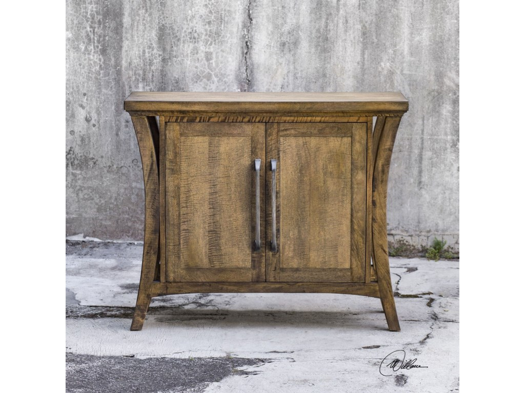 Uttermost Accent FurnitureCary Distressed Console Cabinet