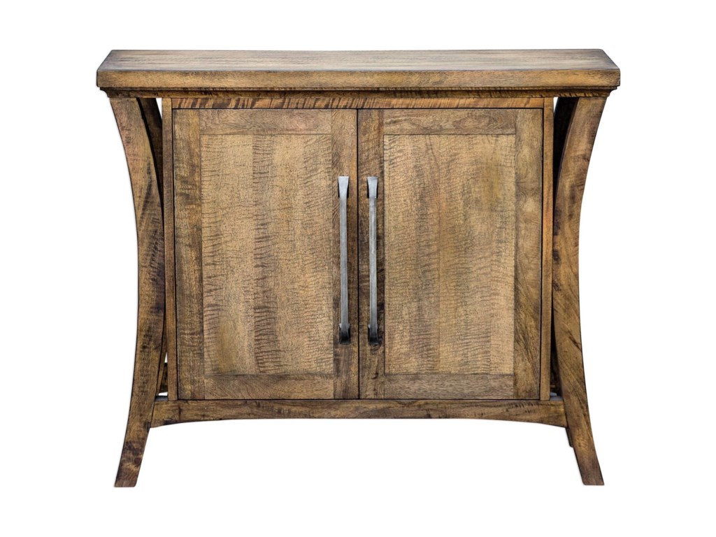 Uttermost Accent Furniture Chests 25851 Cary Distressed Console