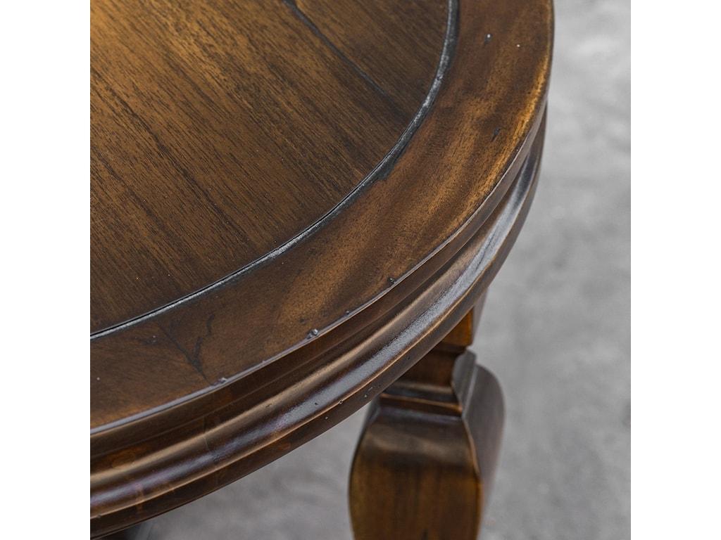 Uttermost Accent FurnitureRaymond Mahogany Lamp Table