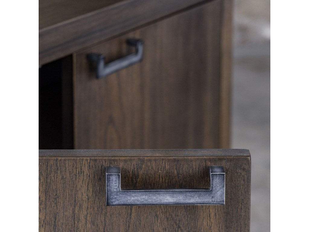 Uttermost Accent Furniture - ChestsNadie Light Walnut Console Cabinet