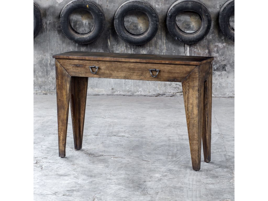 Uttermost Accent FurnitureDelara Wood Console Table