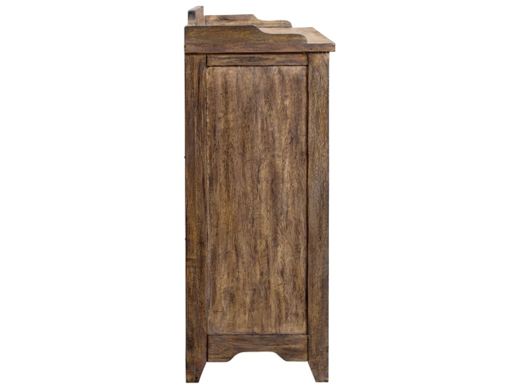 Uttermost Accent FurnitureArdusin Driftwood Hobby Cupboard