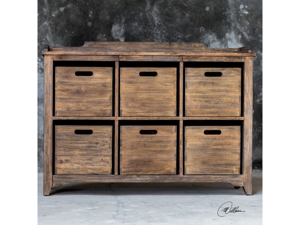 Uttermost Accent Furniture - ChestsArdusin Driftwood Hobby Cupboard
