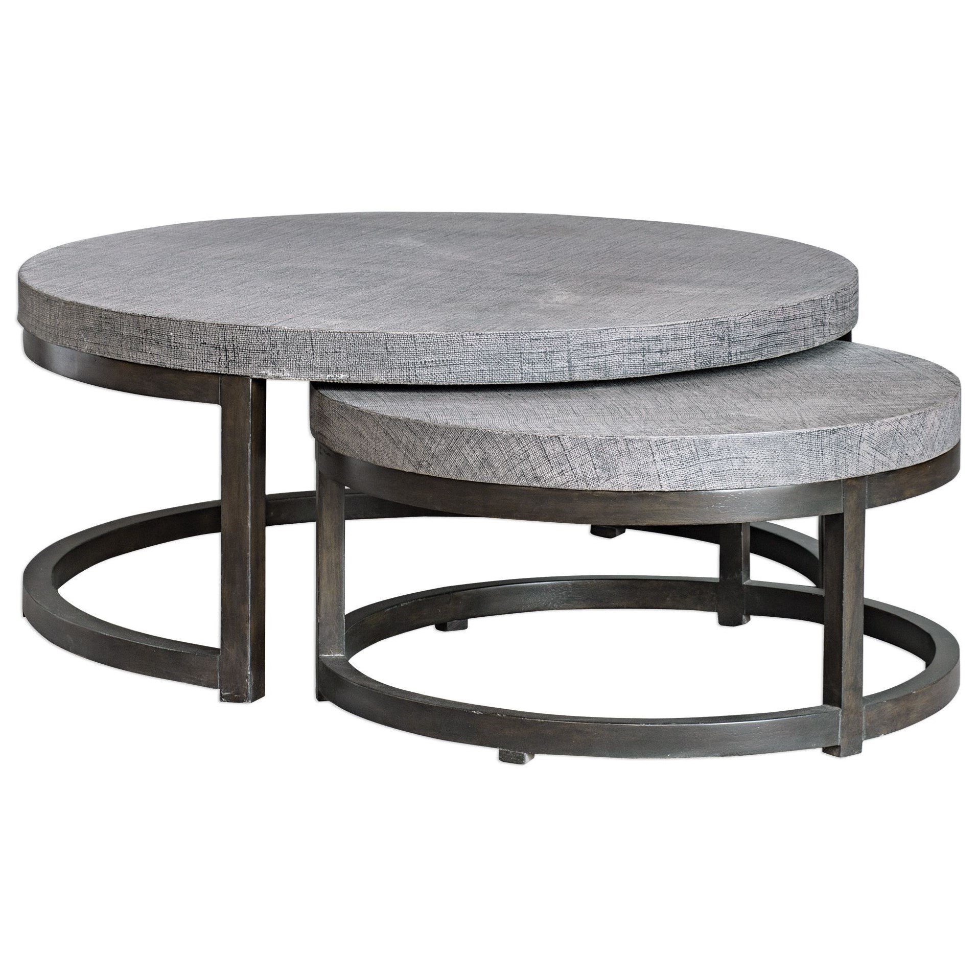 Nesting furniture Stackable Uttermost Accent Furniture Occasional Tablesaiyara Gray Nesting Tables S2 Becker Furniture World Accent Furniture Occasional Tables Set Of Aiyara Gray Nesting