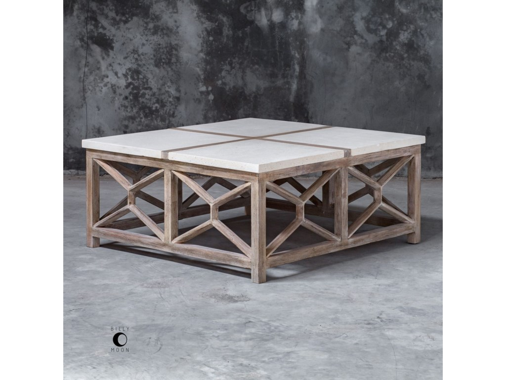 Uttermost Accent FurnitureCatali Stone Coffee Table