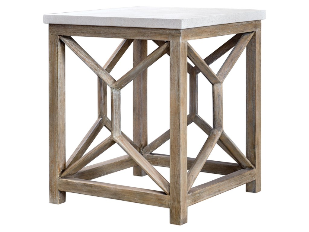 Uttermost Accent FurnitureCatali Stone End Table