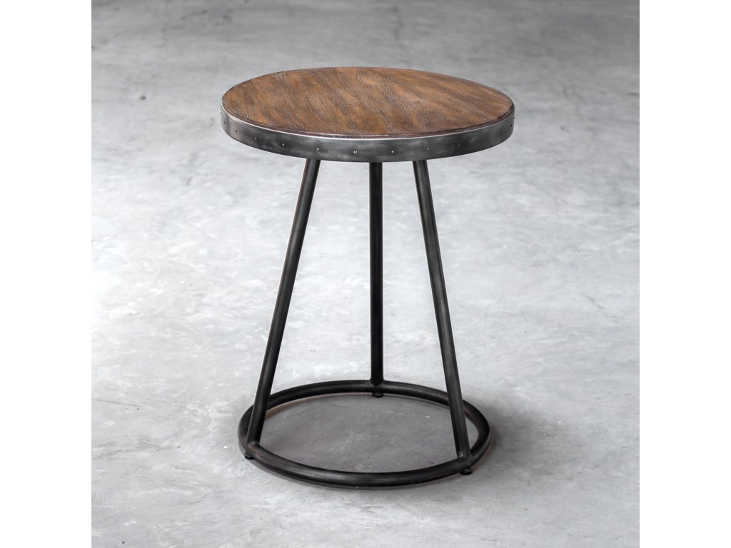 Uttermost Accent FurnitureHector Round Accent Table
