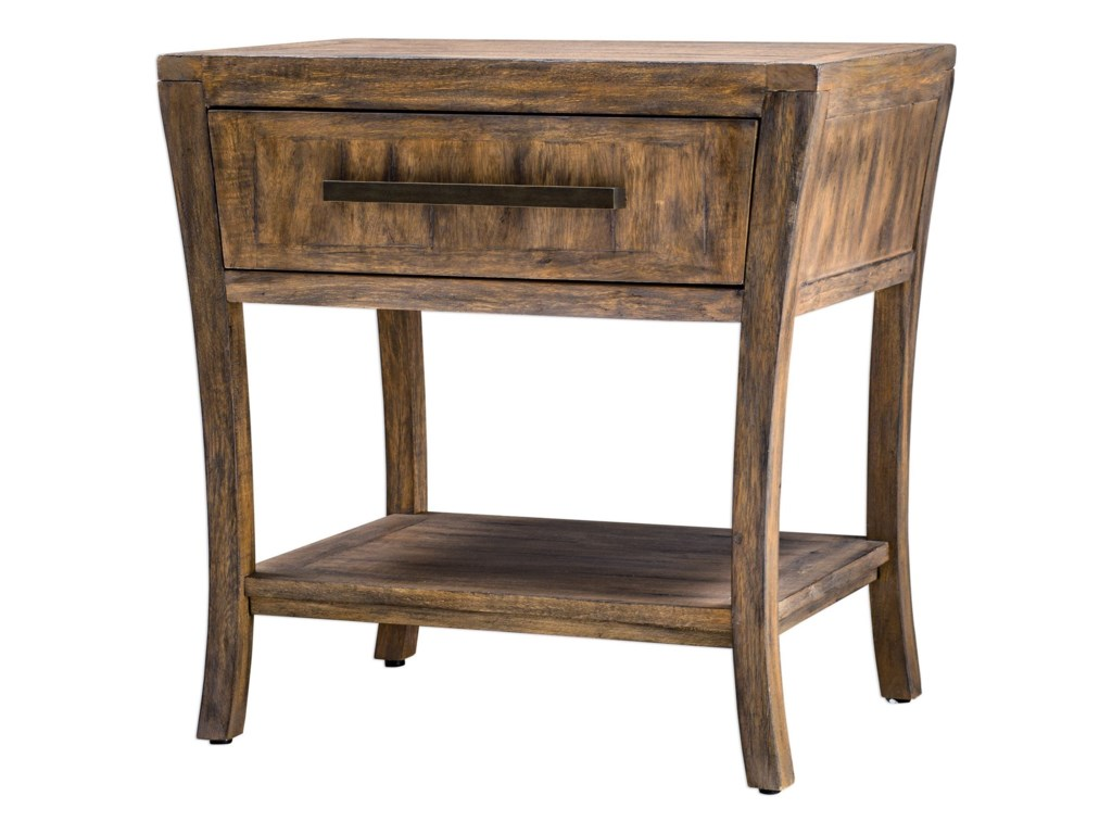 Uttermost Accent FurnitureMarielle Wood End Table