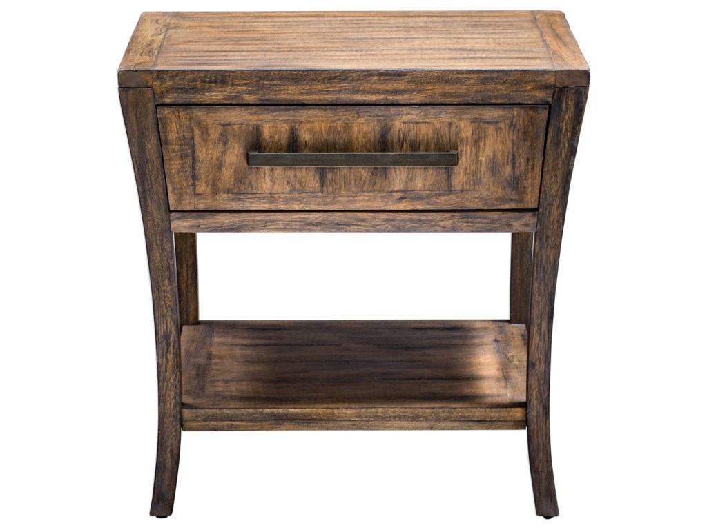 Uttermost Accent Furniture - Occasional TablesMarielle Wood End Table