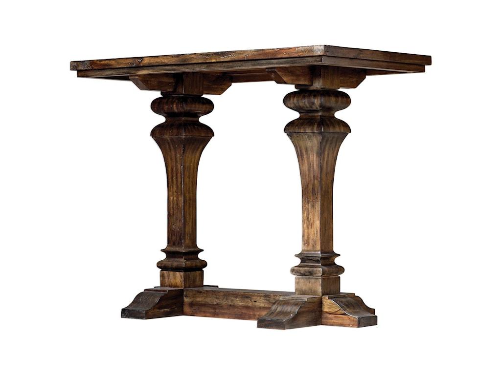 Uttermost Accent FurniturePercy Walnut Bar Table