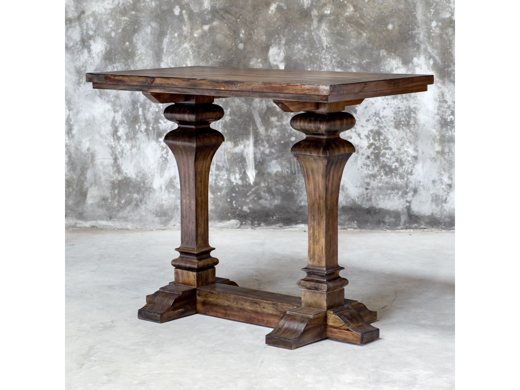 Uttermost Accent FurniturePercy Walnut Bar Table