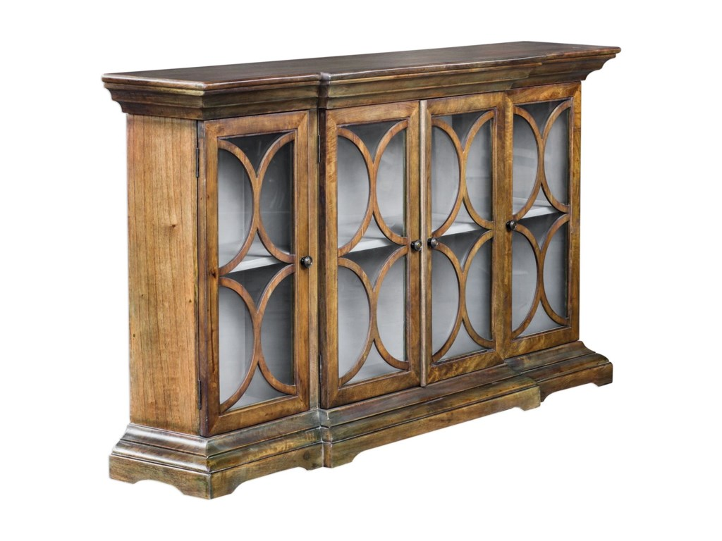 Uttermost Accent FurnitureBelino Mist 4 Door Cabinet