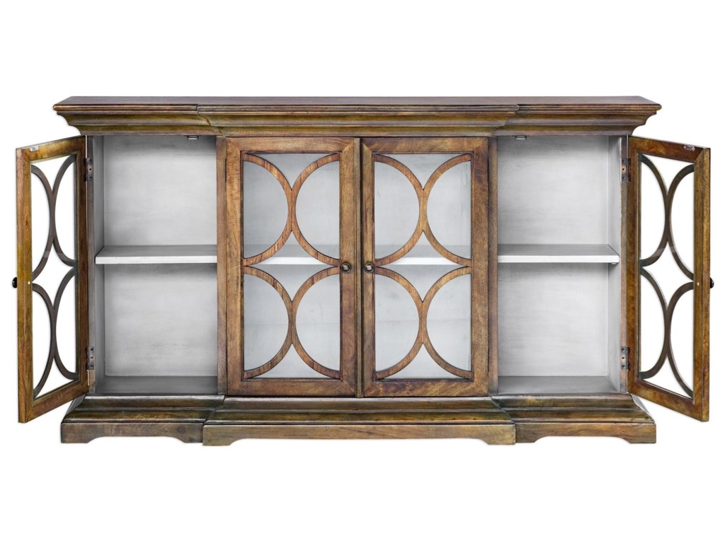 Uttermost Accent FurnitureBelino Mist 4 Door Cabinet