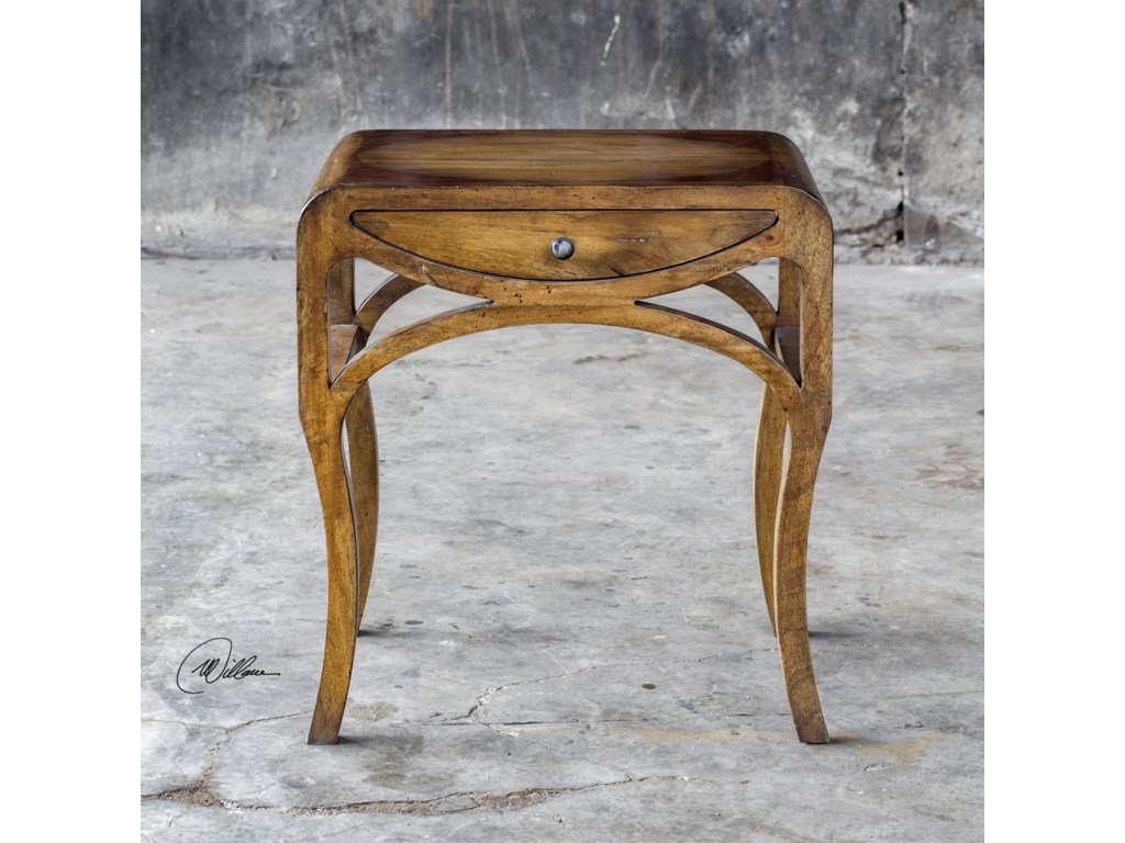 Uttermost Accent FurnitureCheryth Pecan End Table