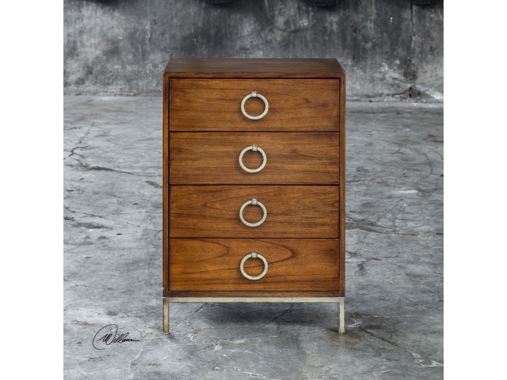 Uttermost Accent Furniture - ChestsLucette Honey Drawer Chest