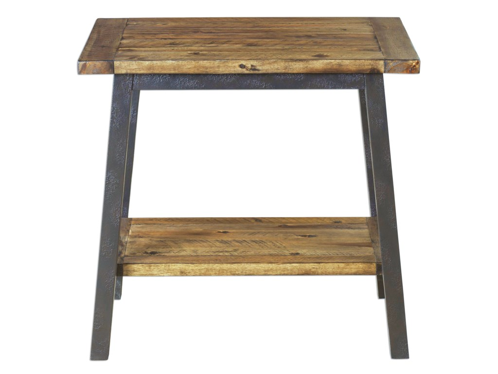 Uttermost Accent FurnitureRuslan Square Side Table