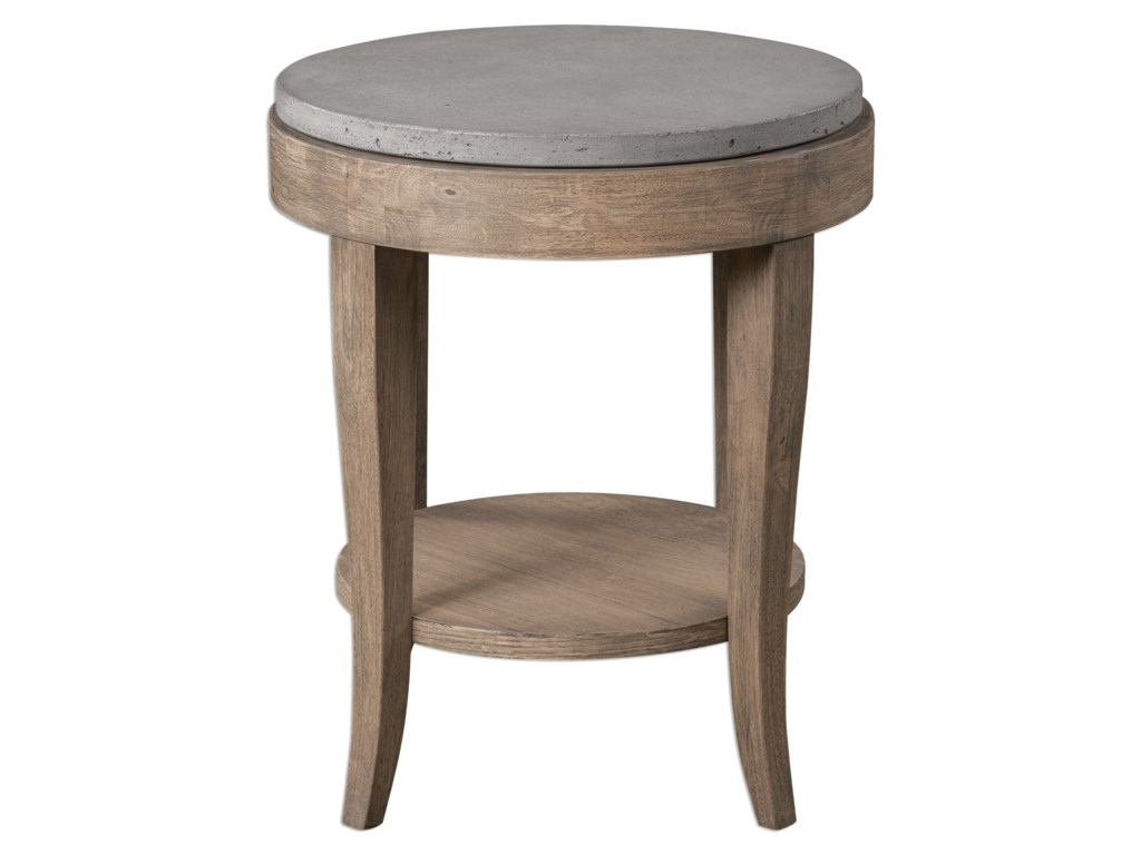 Uttermost Accent Furniture - Occasional TablesDeka Round Accent Table