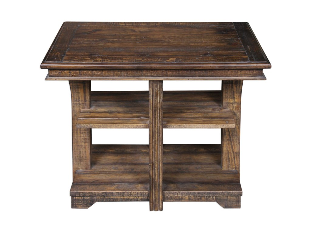 Uttermost Accent FurnitureRamsey Solid Wood End Table