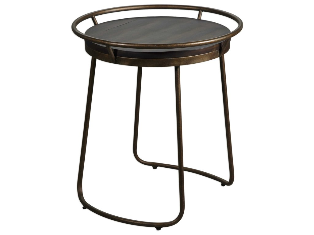 Uttermost Accent FurnitureRayen Round Accent Table