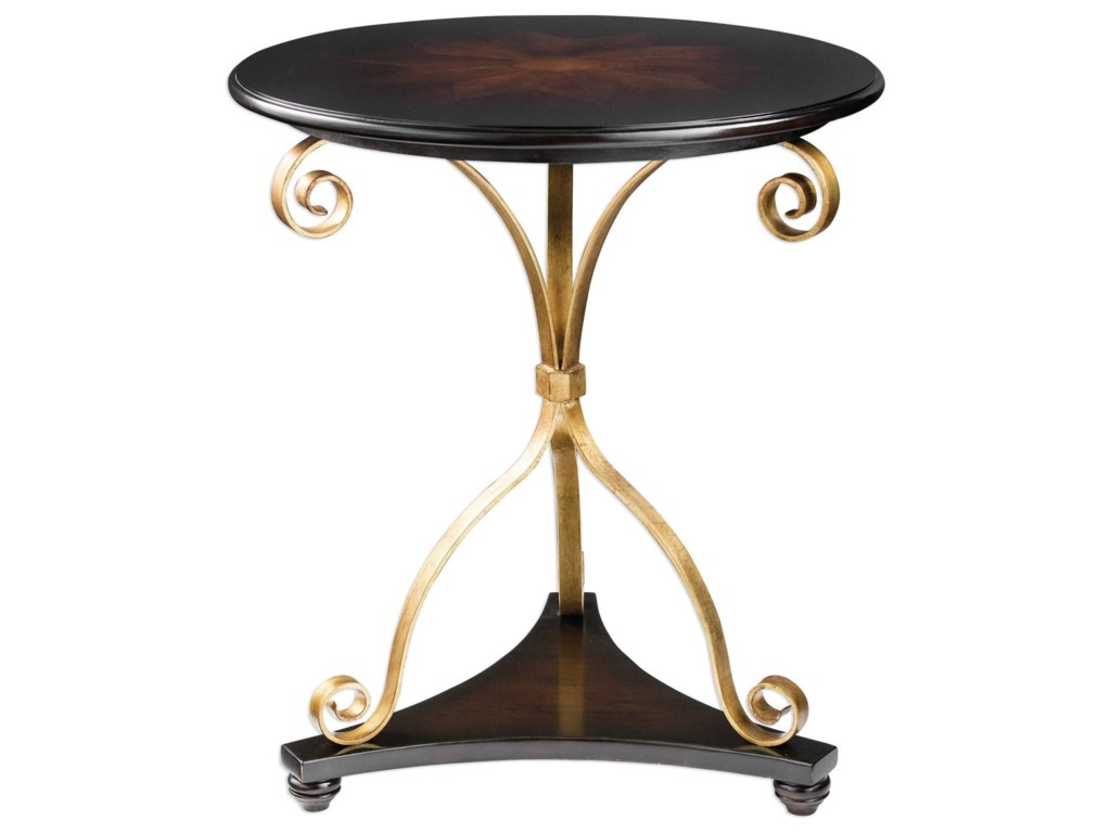 Uttermost Accent FurnitureLanzo Walnut Accent Table