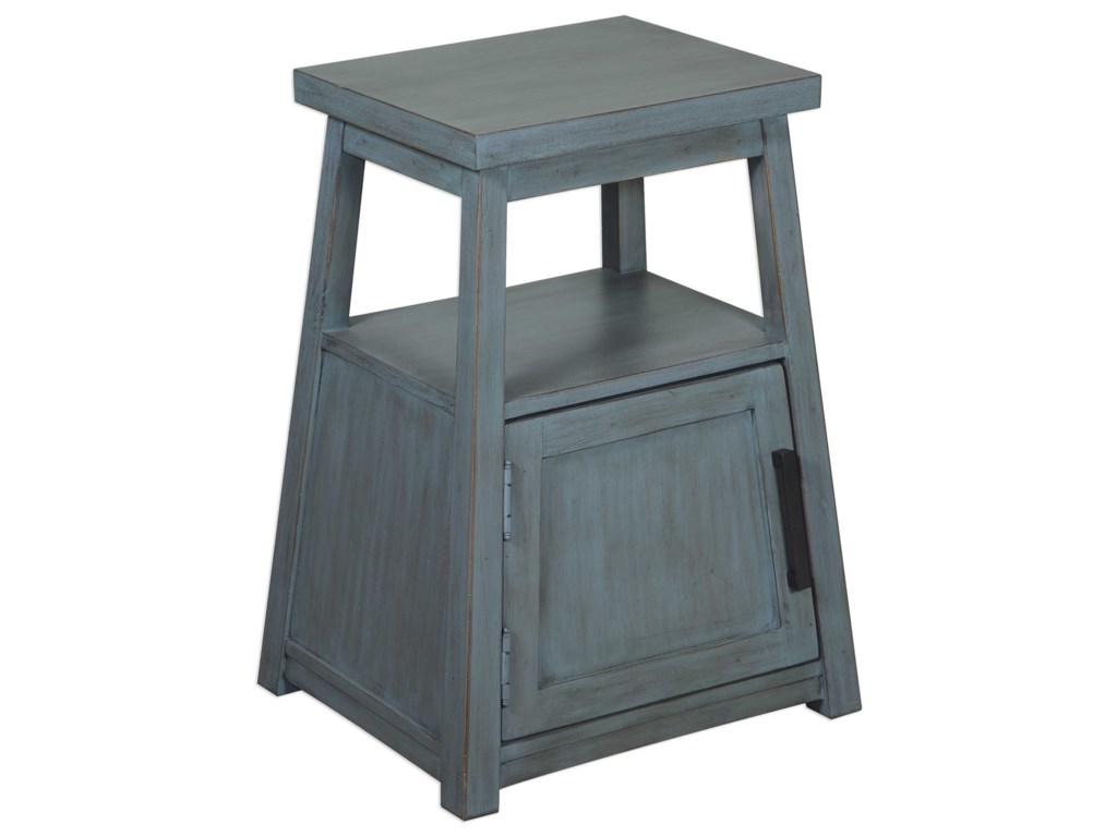 Uttermost Accent FurnitureCora Blue Wash Accent Table