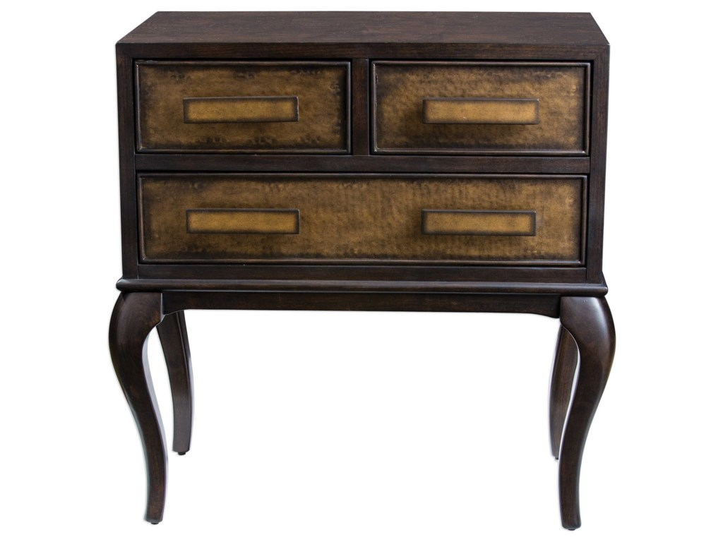 Uttermost Accent FurnitureMayra Ash Burl Accent Chest