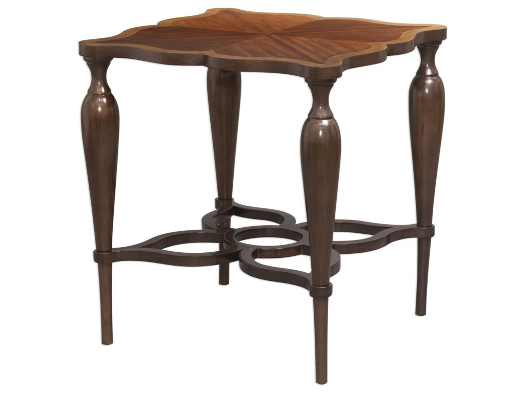 Uttermost Accent FurnitureVaratella Kara Wood Accent Table