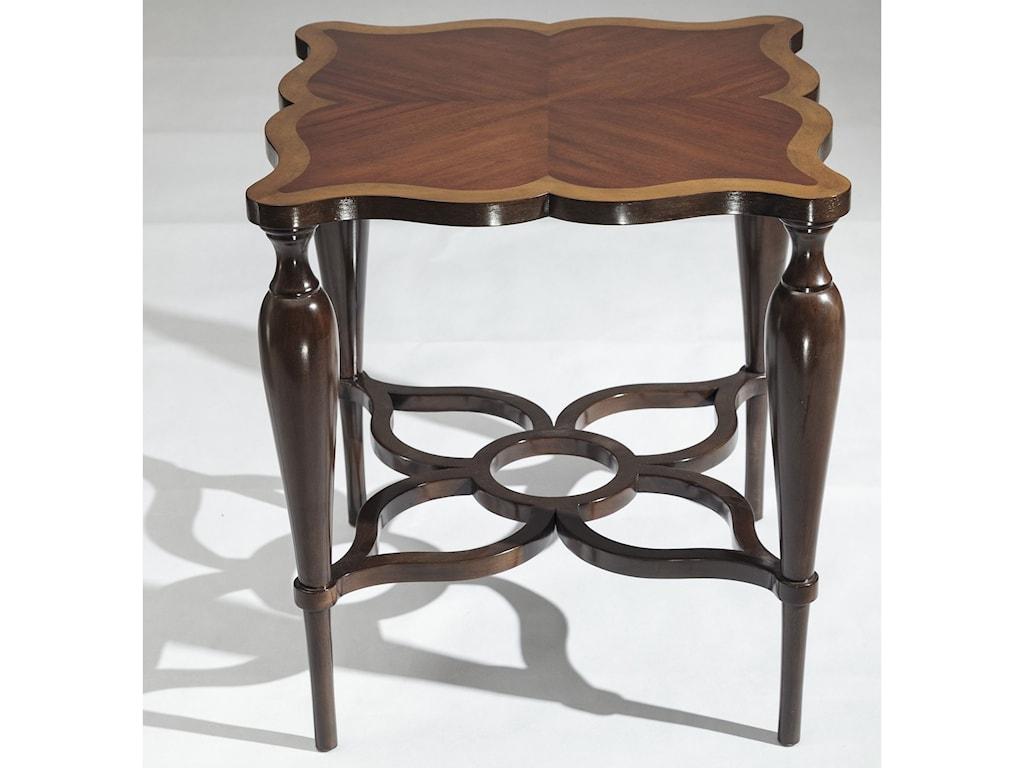 Uttermost Accent FurnitureVaratella Kara Wood Accent Table