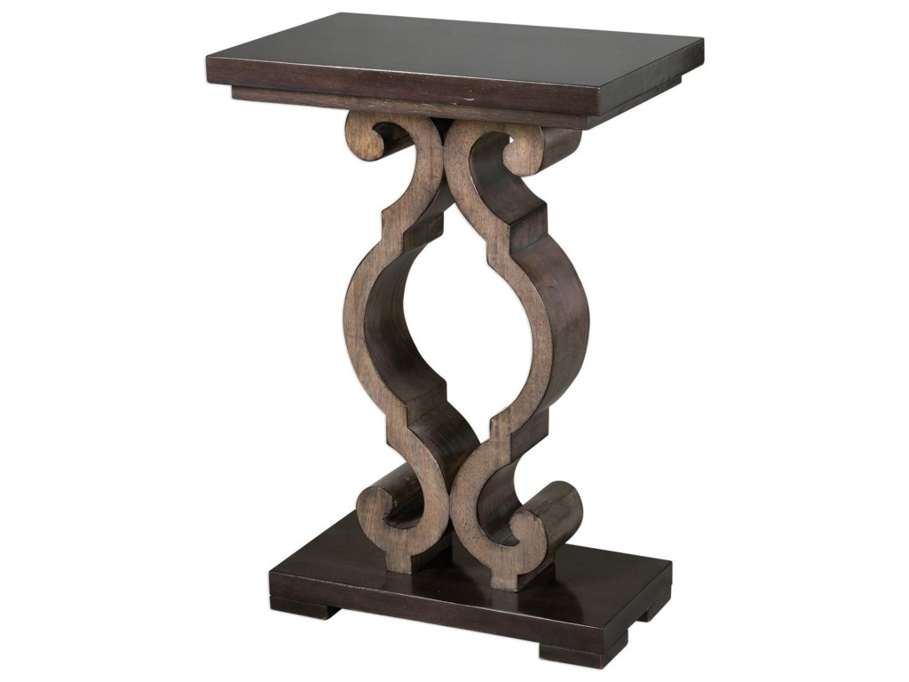 Uttermost Accent FurnitureParina Ebony Accent Table