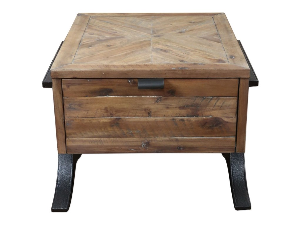 Uttermost Accent FurnitureBrodie Natural Wood Accent Table