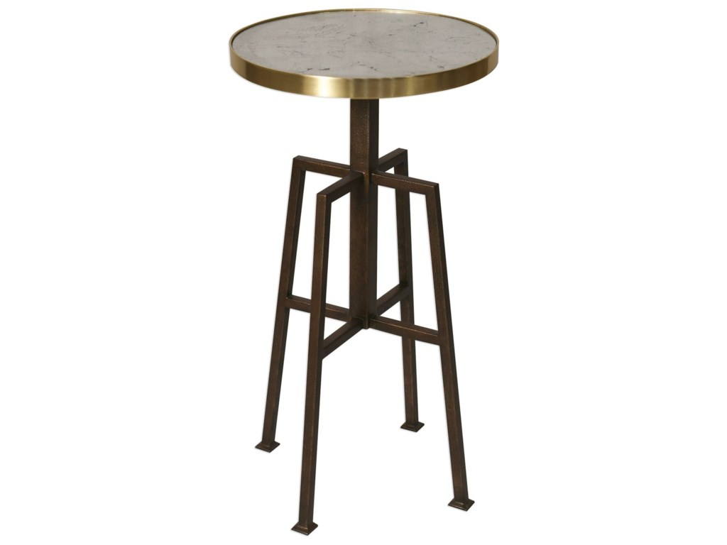 Uttermost Accent Furniture - Occasional TablesGisele Round Accent Table