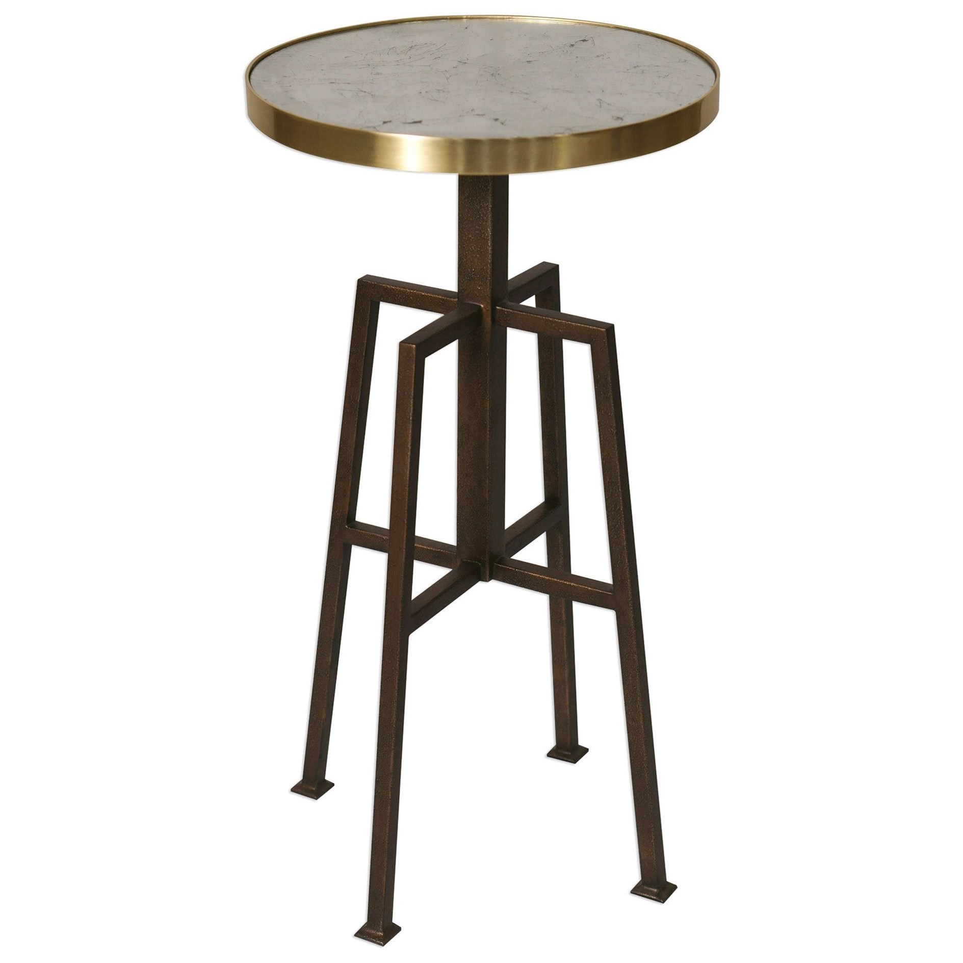 Uttermost Accent FurnitureGisele Round Accent Table ...
