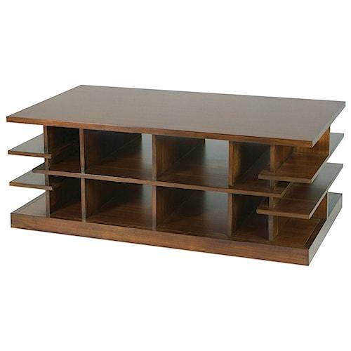 Uttermost Accent Furniture Simeto Multi-Level Coffee Table