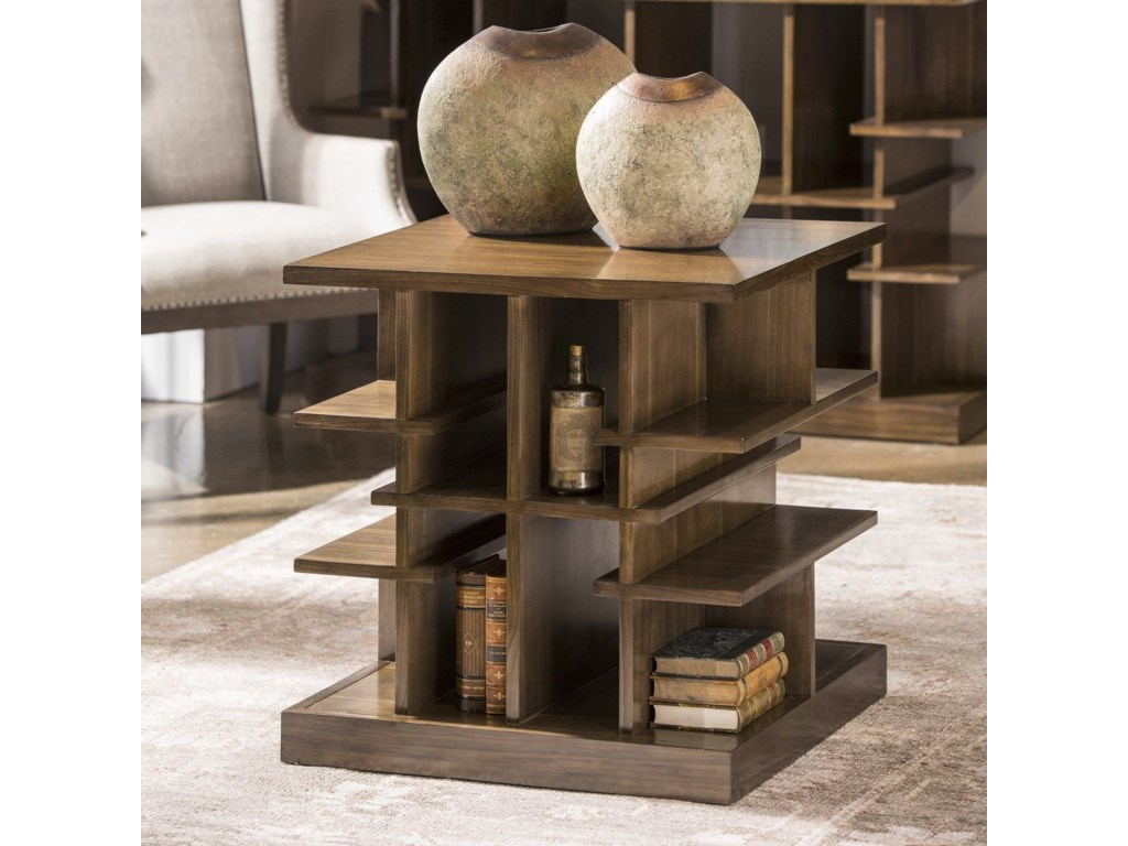 Uttermost Accent Furniture - Occasional TablesSimeto Multi-Level End Table