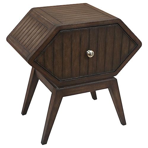 Uttermost Accent Furniture Anapo Retro Accent Table