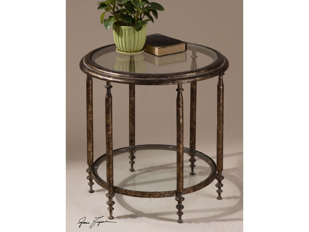 Uttermost Accent Furniture - Occasional TablesLeilani Accent Table