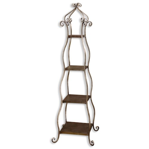 Uttermost Accent Furniture Lilah Etagere for Indoor Plants